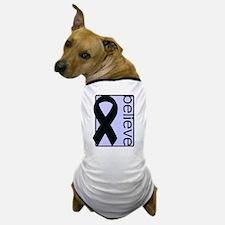 Periwinkle (Believe) Ribbon Dog T-Shirt