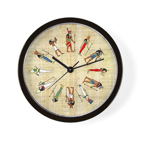 Egyptian Gods Wall Clock