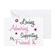 Loving Admiring 1 BC (Friend) Greeting Cards (Pk o