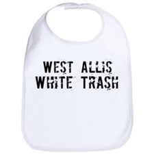 West Allis White Trash Bib