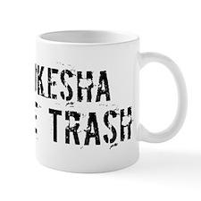 Waukesha White Trash Mug