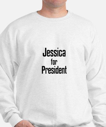 Jessica for President Sweater
