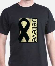 Pale Yellow (Believe) Ribbon T-Shirt