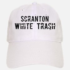 Scranton White Trash Baseball Baseball Cap