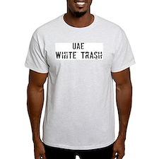 Uae White Trash T-Shirt