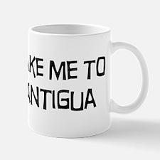 Take me to Antigua Mug