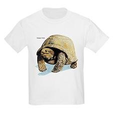 Galapagos Tortoise (Front) Kids T-Shirt