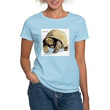 Galapagos Tortoise (Front) Women's Pink T-Shirt