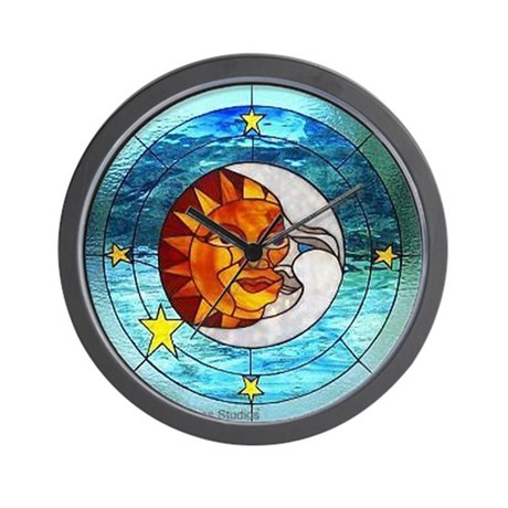 SunMoon Wall Clock