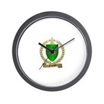 FOURNIER Family Crest Wall Clock