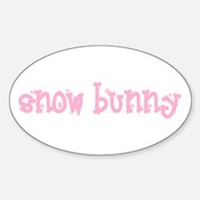 Snow Bunny Vinyl Decal