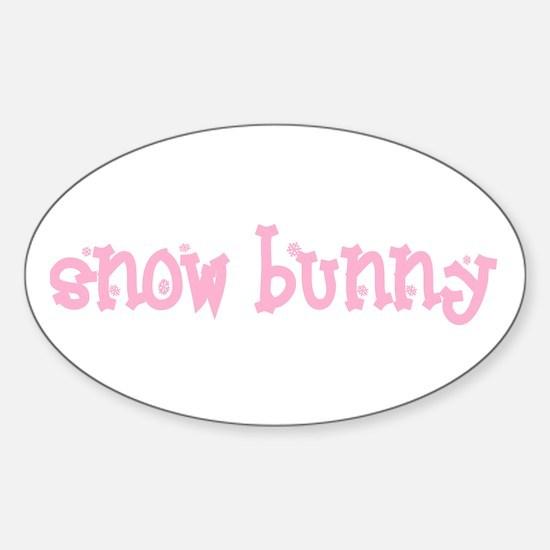 Snow Bunny Vinyl Decal