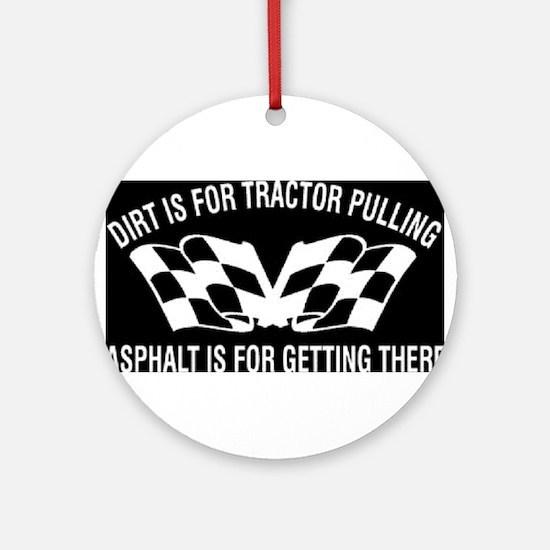 Tractors Ornament (Round)