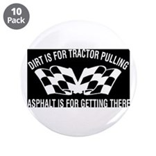 """Tractors 3.5"""" Button (10 pack)"""