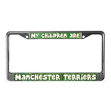 My Children Manchester Terrier License Plate Frame