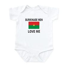 Burkinabe Men Love Me Infant Bodysuit