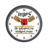 Drum Wall Clocks