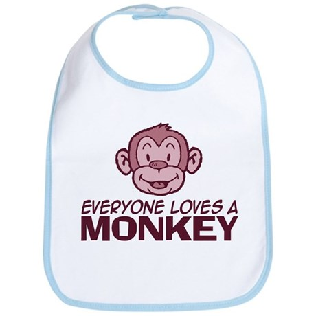 Everyone loves a Monkey Bib