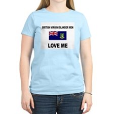 British Virgin Islander Men Love Me T-Shirt