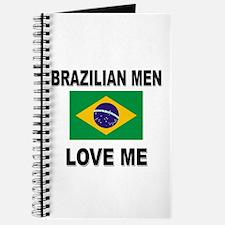 Brazilian Men Love Me Journal