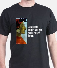 "Dante ""Abandon Hope"" T-Shirt"