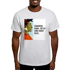 """Dante """"Abandon Hope"""" T-Shirt"""