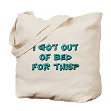 Out Of Bed Tote Bag