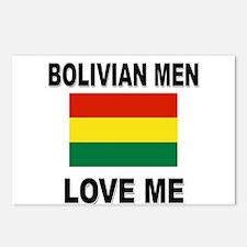 Bolivian Men Love Me Postcards (Package of 8)