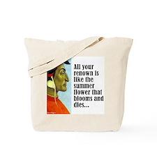 """Dante """"Your Renown"""" Tote Bag"""