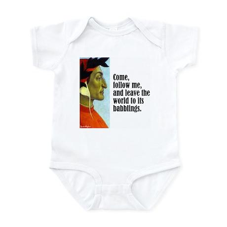 """Dante """"Follow Me"""" Infant Bodysuit"""