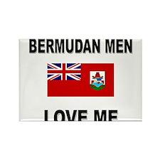 Bermudan Men Love Me Rectangle Magnet