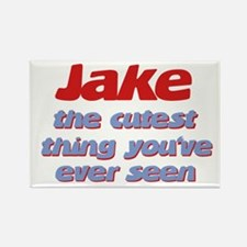 Jake - The Cutest Ever Rectangle Magnet