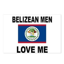 Belizean Men Love Me Postcards (Package of 8)