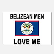 Belizean Men Love Me Postcards (Package of 8)
