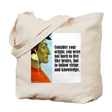 "Dante ""Your Origin"" Tote Bag"