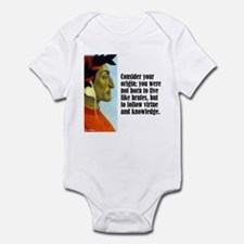 "Dante ""Your Origin"" Onesie"