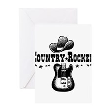 Country Rocker Greeting Card