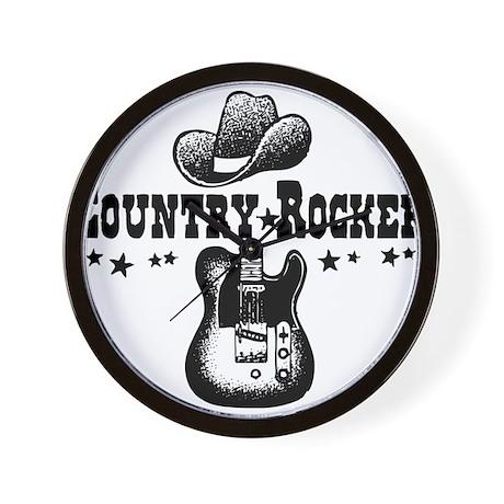 Country Rocker Wall Clock