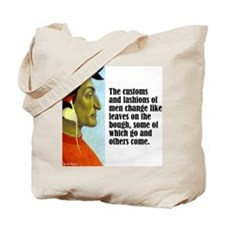 "Dante ""Customs & Fashions"" Tote Bag"
