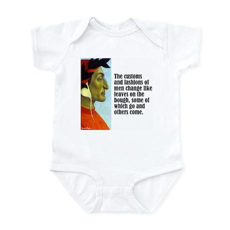 """Dante """"Customs & Fashions"""" Infant Bodysuit"""