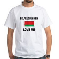 Belarusian Men Love Me Shirt