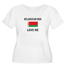 Belarusian Men Love Me T-Shirt