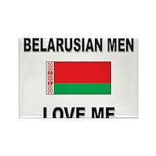 Belarusian Men Love Me Rectangle Magnet