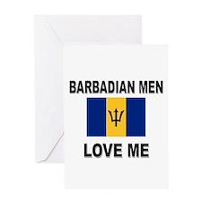 Barbadian Men Love Me Greeting Card