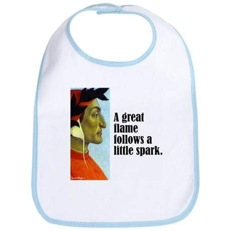 "Dante ""A Great Flame"" Bib"