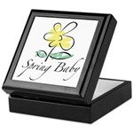The Spring Baby Keepsake Box