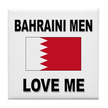 Bahraini Men Love Me Tile Coaster