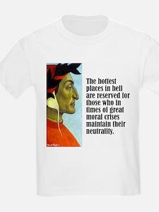 """Dante """"Hottest Places"""" T-Shirt"""