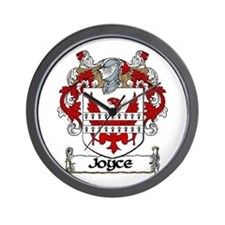 Joyce Coat of Arms Wall Clock