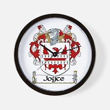 Joyce Coat of Arms Wall Clock